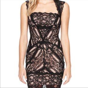 Nicole Miller Eva stretch lace dress
